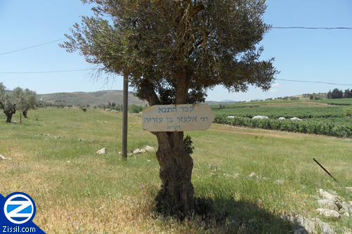 File:00000624-sign-leading-kever-rabbi-eleazar-ben-azariah.jpg